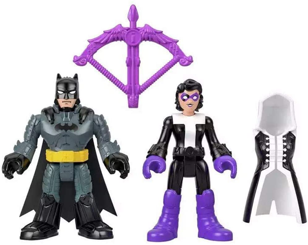 Imaginext DC Super Friends Tekli Figürler - Batman & Huntress GKJ66 M5645